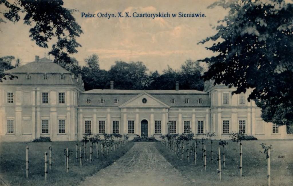 Czartoryski Palace in Sieniawa
