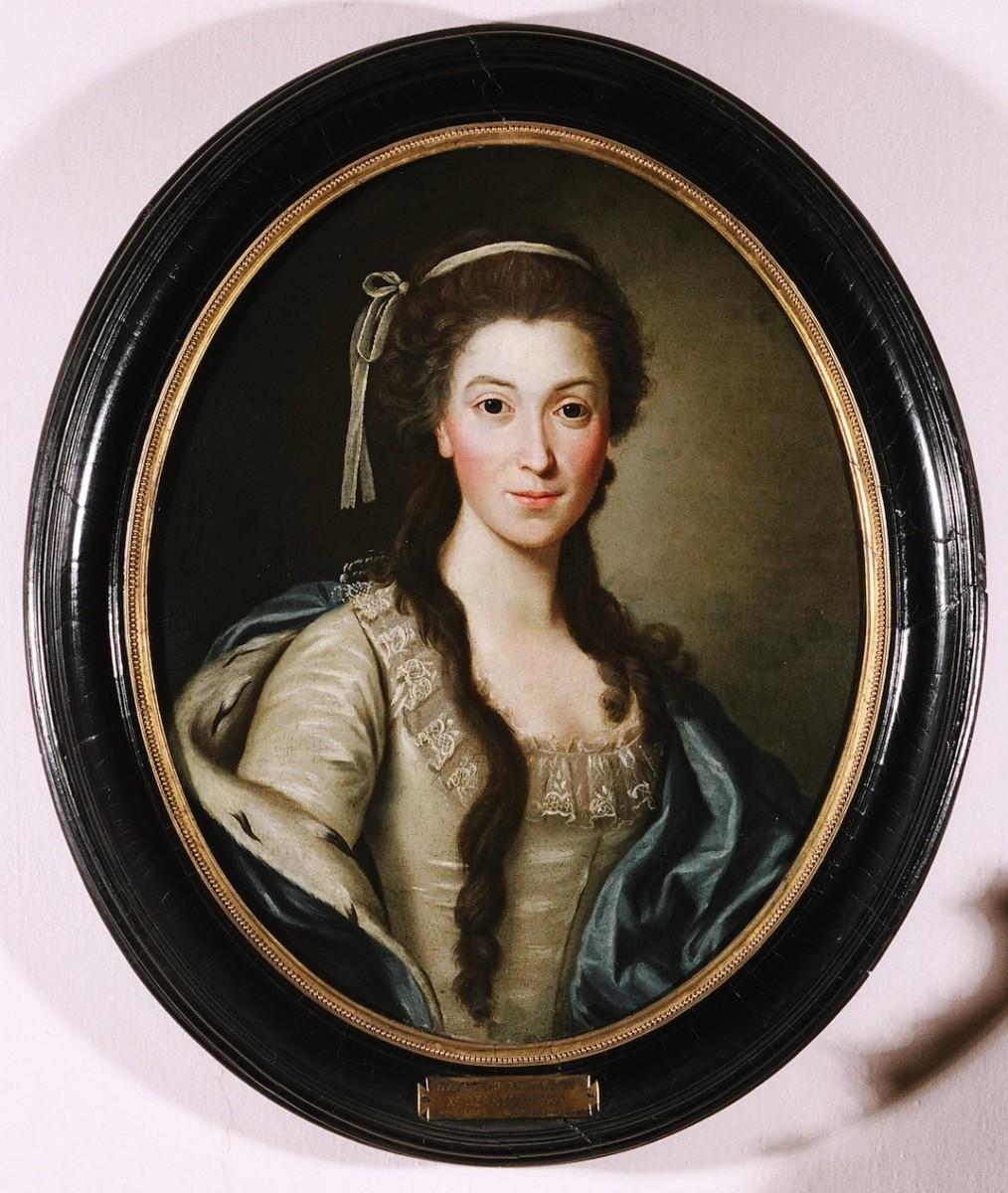 Unknown Polish artist Portrait of Duchess Izabela Czartoryska