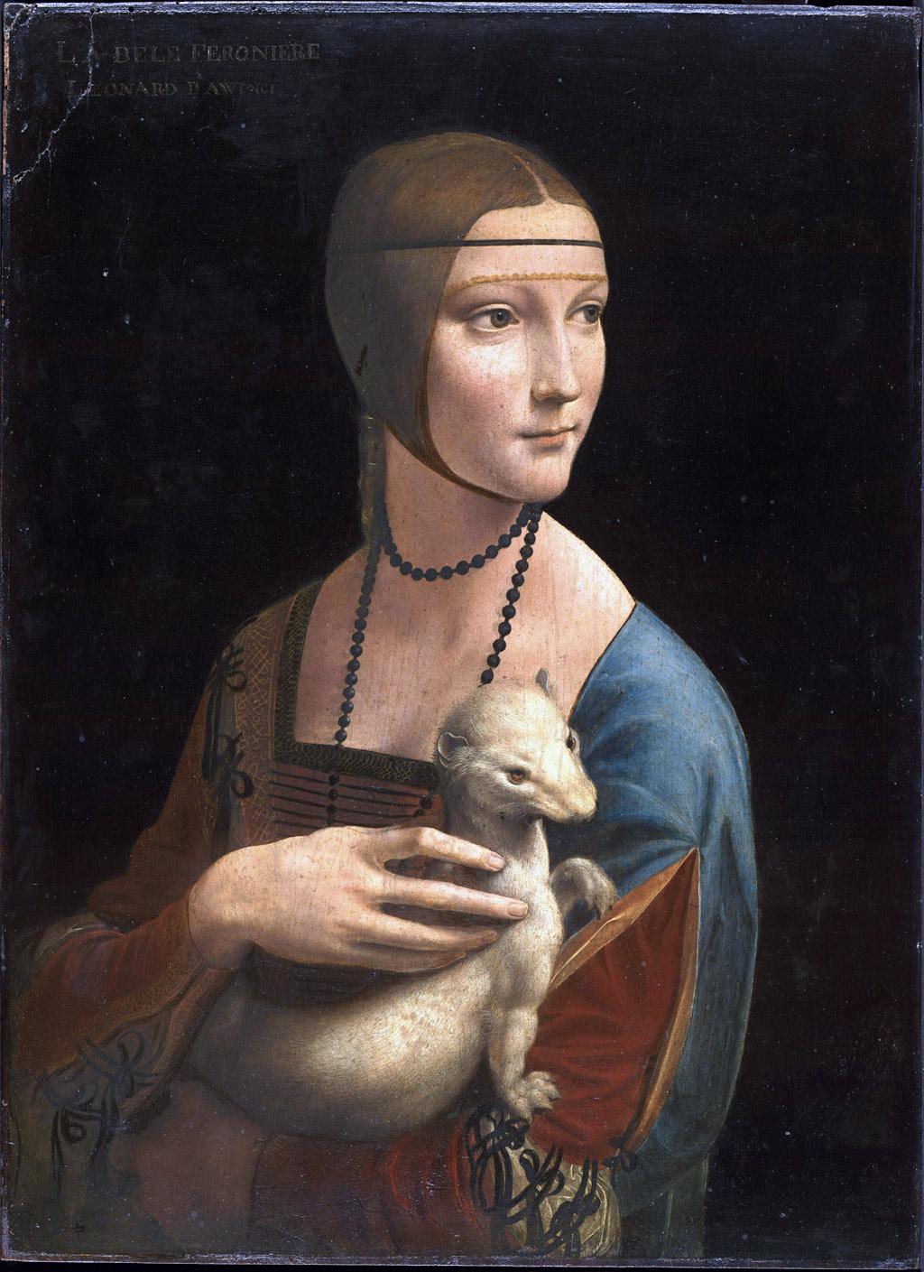 Leonardo da Vinci Lady with an Ermine