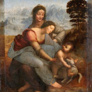 Leonardo da Vinci The Virgin and Child with St. Anne