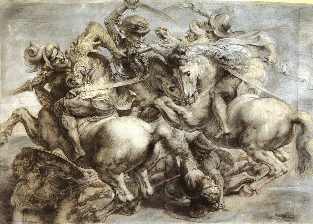 Peter Paul Rubens The Battle of Anghiari