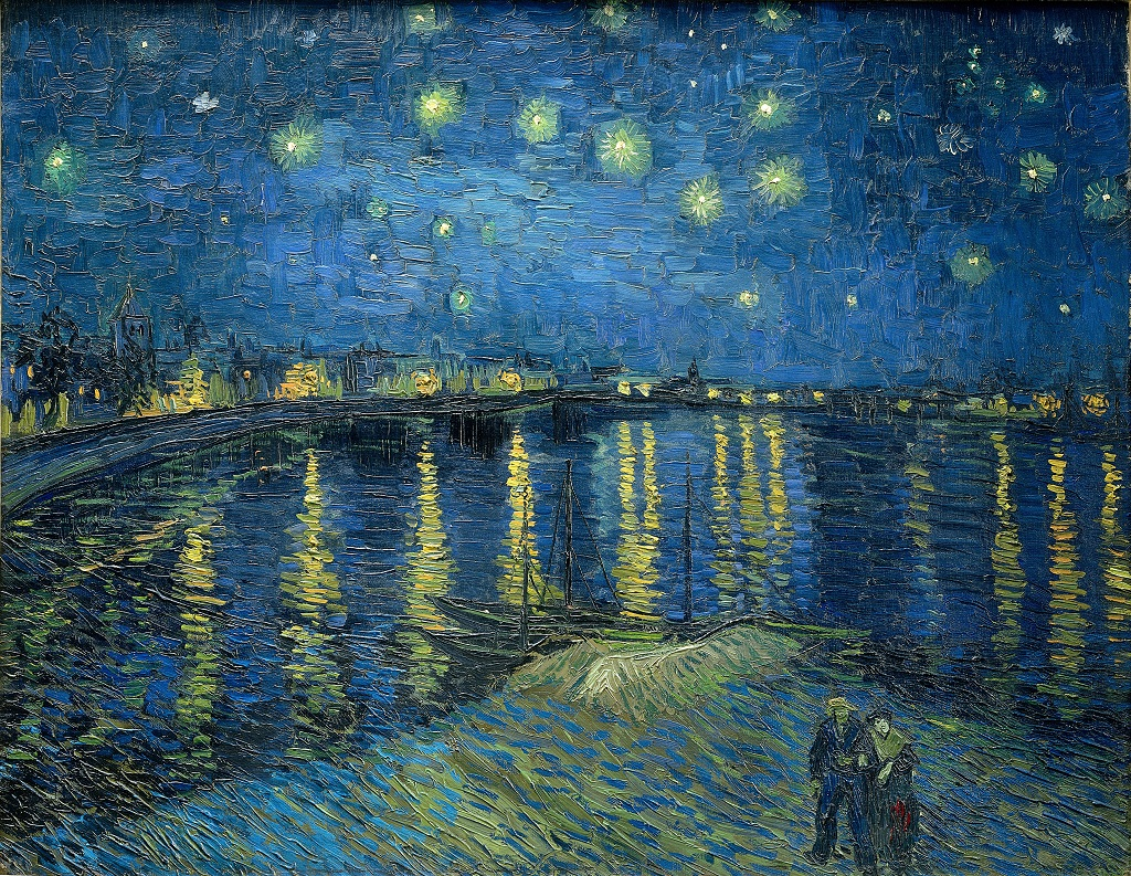 Vincent van Gogh, Starry Night Over the Rhône