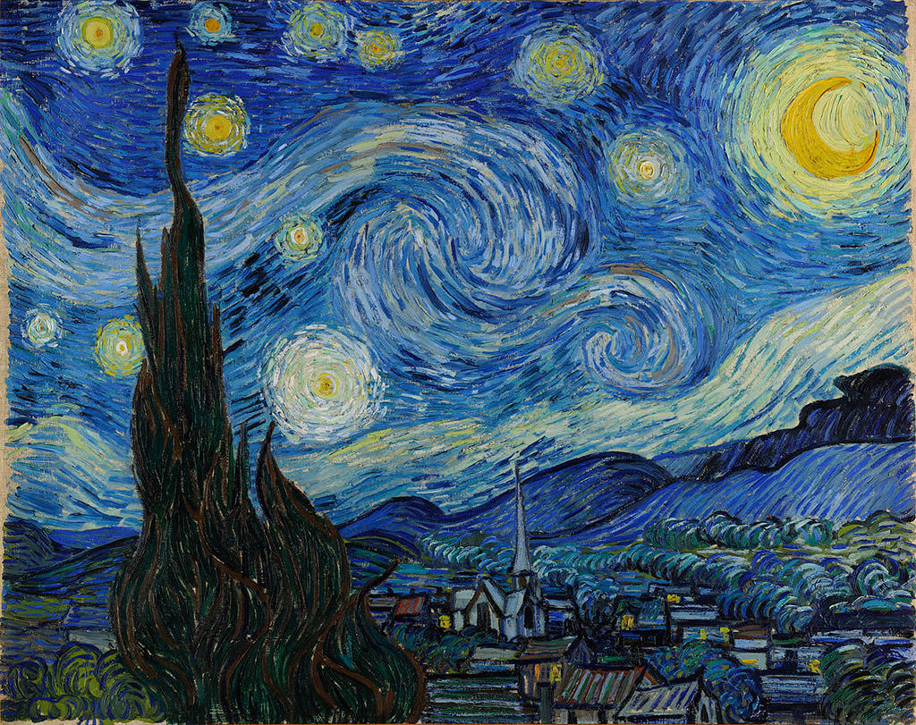 Vincent van Gogh, Starry Night, Artophilia