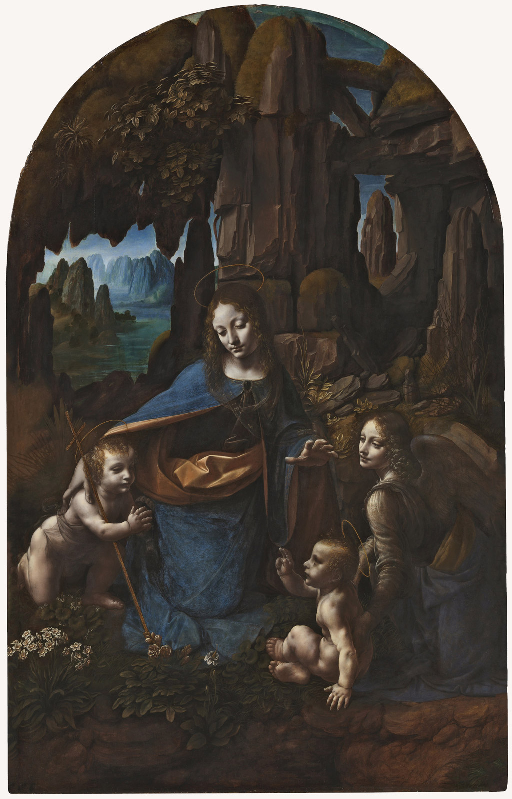 leonardo da vinci Leonardo da Madonna of the Rocks