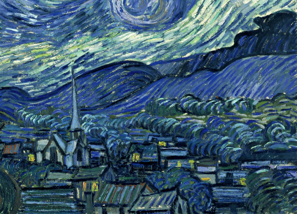 Starry night vincent van gogh sketches