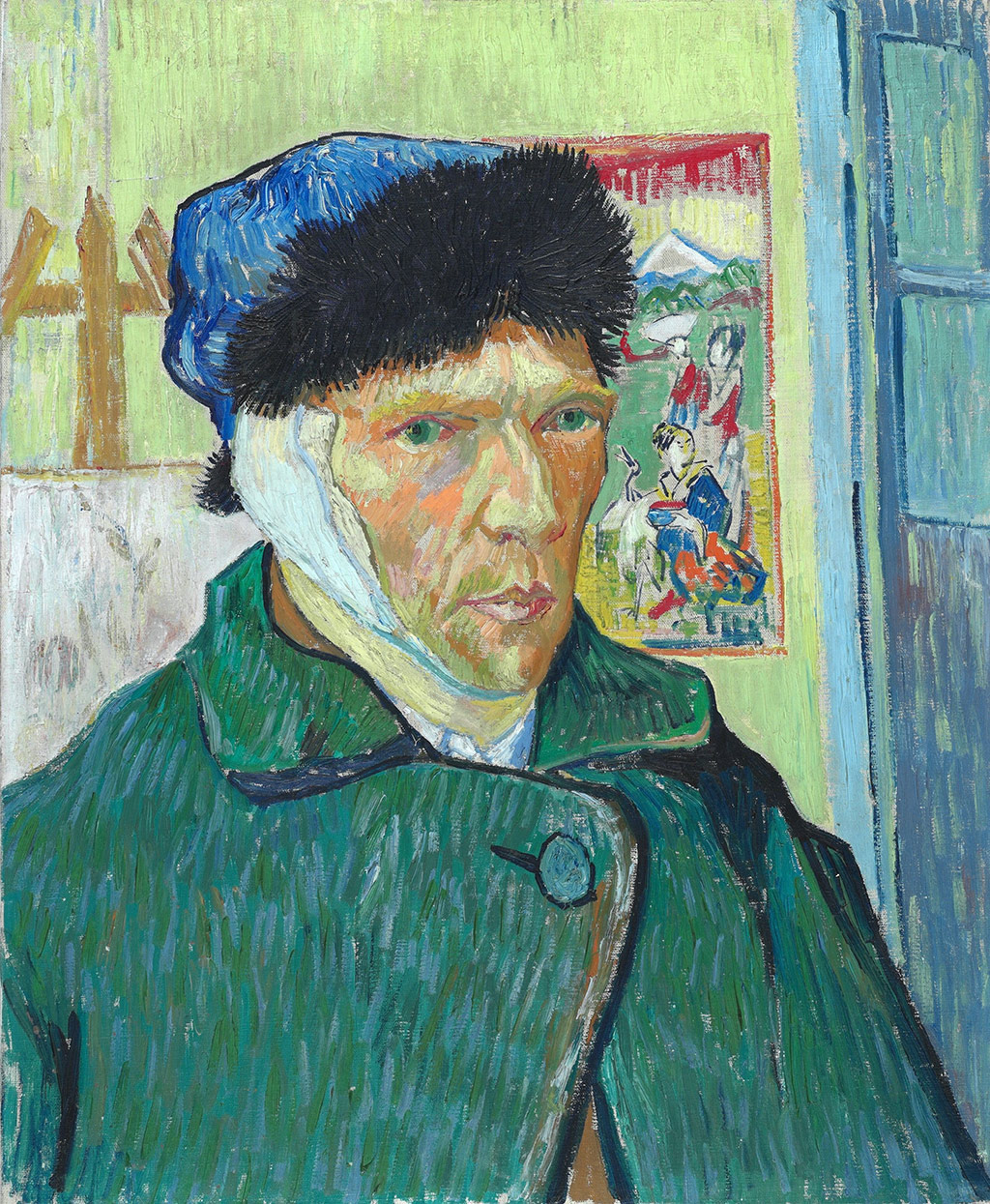 Vincent van Gogh, Self-portrait with bandaged ear, Artophilia