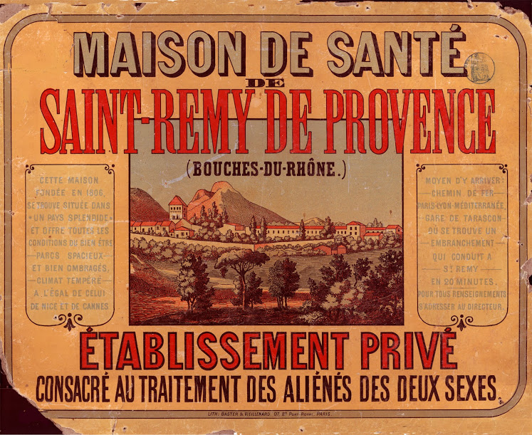 advertising a hospital in Saint-Rémy de Provence