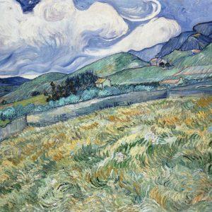 Vincent van Gogh Landscape from Saint-Rémy | 1889, Ny Carlsberg Glyptotek