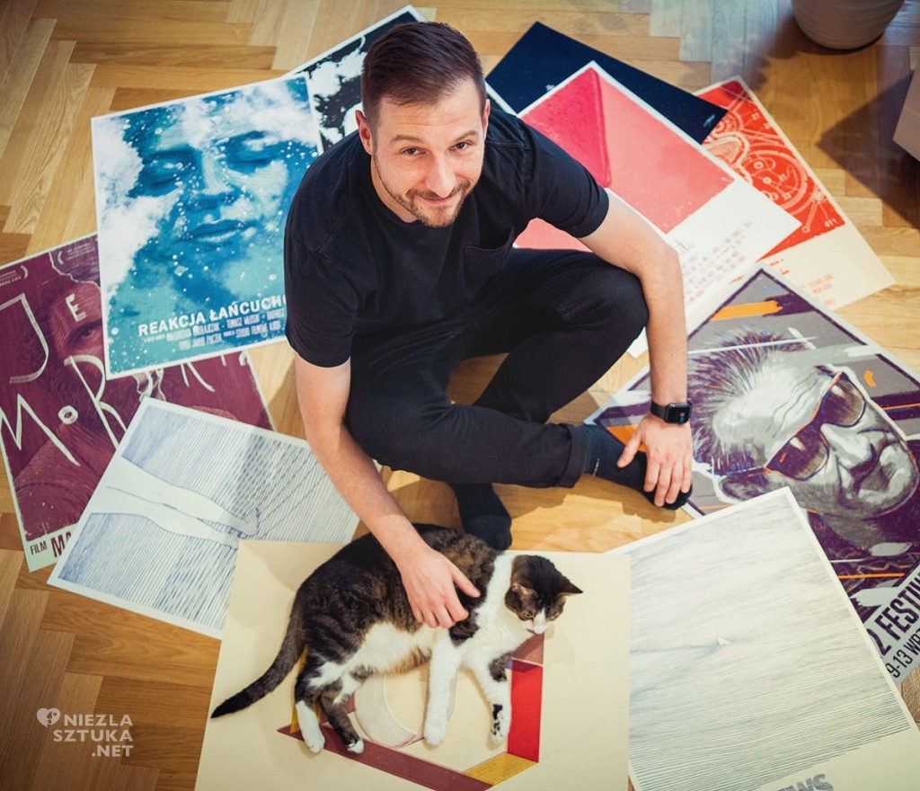 Bartosz Kosowski, illustrator, poster artist, polish artist, polish art, Artophilia.com